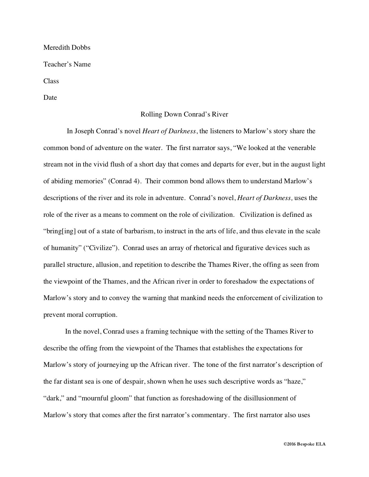 I Need Help Writing An Analitical Paper
